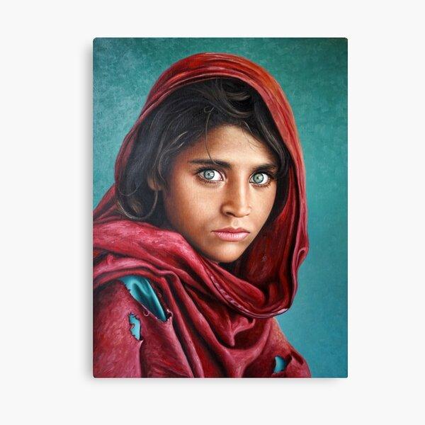 Afghan Girl Canvas Print