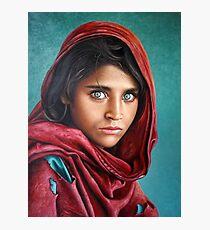 Afghan Girl Photographic Print