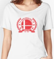 Smash Club Ver. 2 (Red) Women's Relaxed Fit T-Shirt