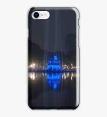 Hanoi at night iPhone Case/Skin