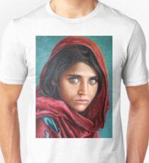 Afghan Girl Unisex T-Shirt