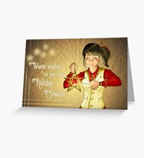 Warm Wishes To You! Greeting Card