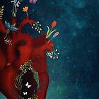 night flower heart by Sybille Sterk