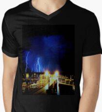 Lighting Storm V-Neck T-Shirt