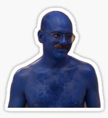 I Just Blue Myself Sticker