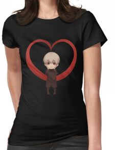 Tokyo Ghoul Ken Kaneki Womens Fitted T-Shirt