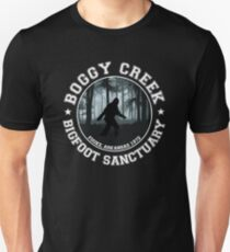 Boggy Creek Bigfoot Reserve : Inspired By The Legend of Boggy Creek Unisex T-Shirt