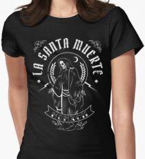 Camiseta entallada para mujer La Santa Muerte