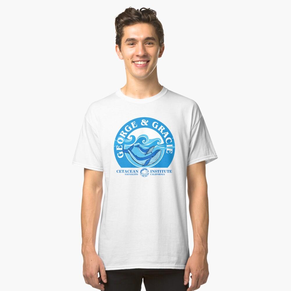 George And Gracie (Instituto de Cetáceos): Inspirado por Star Trek IV: The Voyage Home Camiseta clásica