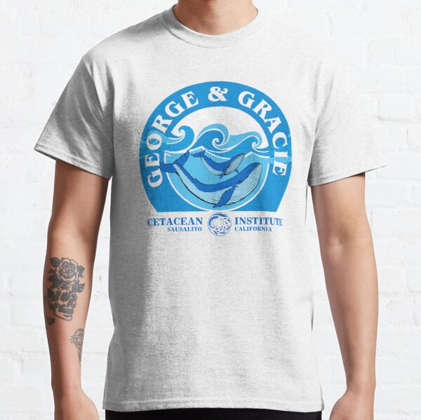George And Gracie (Cetacean Institute) : Inspired by Star Trek IV : The Voyage Home Classic T-Shirt