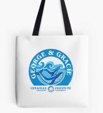 George And Gracie (Cetacean Institute) : Inspired by Star Trek IV : The Voyage Home Tote Bag