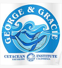 George And Gracie (Cetacean Institute) : Inspired by Star Trek IV : The Voyage Home Poster