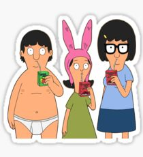 Belcher Kids  Sticker