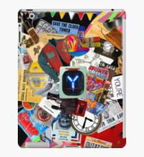 Back to the Future Trilogy MIX (saturated version) iPad Case/Skin