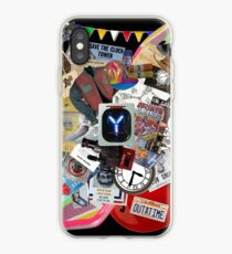 Back to the Future Trilogy MIX iPhone Case