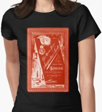 Victorian Cabinet Card Women's Fitted T-Shirt