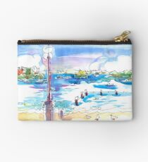 Waiting for the Ferry at Manly, Sydney Studio Pouch