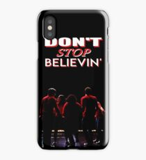 Don't Stop Believin' - Glee iPhone Case