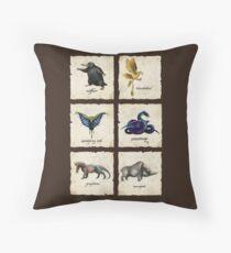Fantastical Creatures Throw Pillow