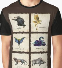 Fantastical Creatures Graphic T-Shirt