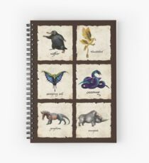 Fantastical Creatures Spiral Notebook