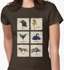 Fantastical Creatures Women's Fitted T-Shirt