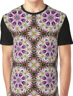 Dahlia Flower Power Abstract Graphic T-Shirt