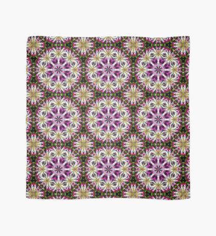 Dahlia Flower Power Abstract Scarf