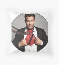 Ryan Reynolds Throw Pillow