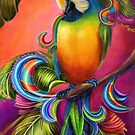Paradise Paisley Parrot by Alma Lee