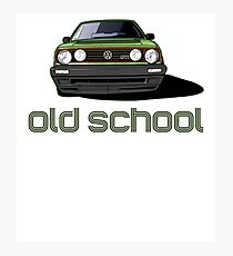 Old School Golf GTI  Photographic Print