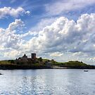 First View of Inchcolm Abbey by Tom Gomez