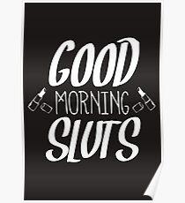 Scream Queens 'Good Morning, Sluts' Poster