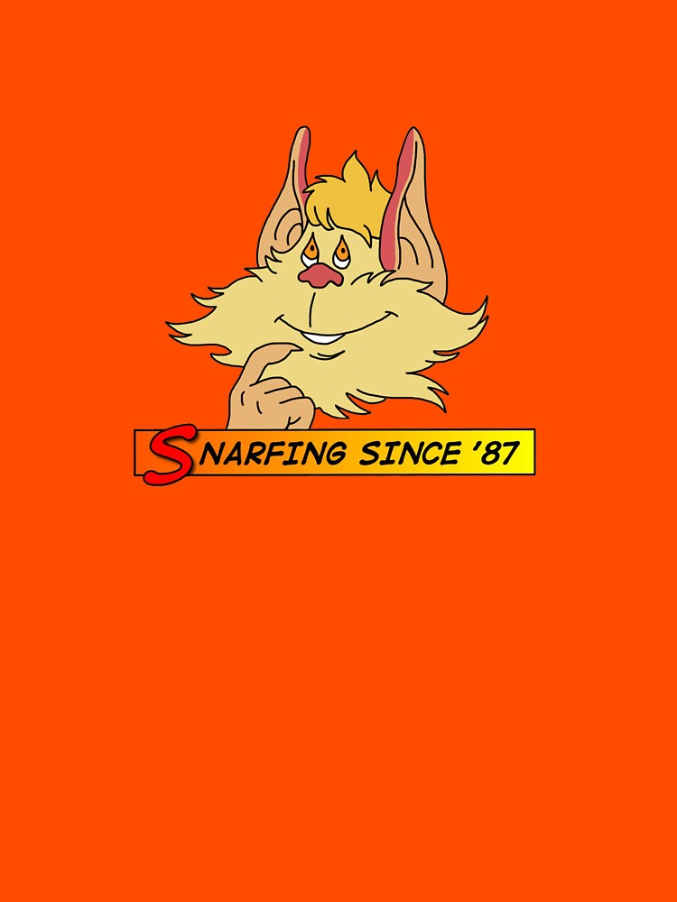 Snarfing since '87 (Thundercats Snarf) by horatiohayden