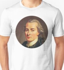 Immanuel Kant (circle stickers 2) Unisex T-Shirt