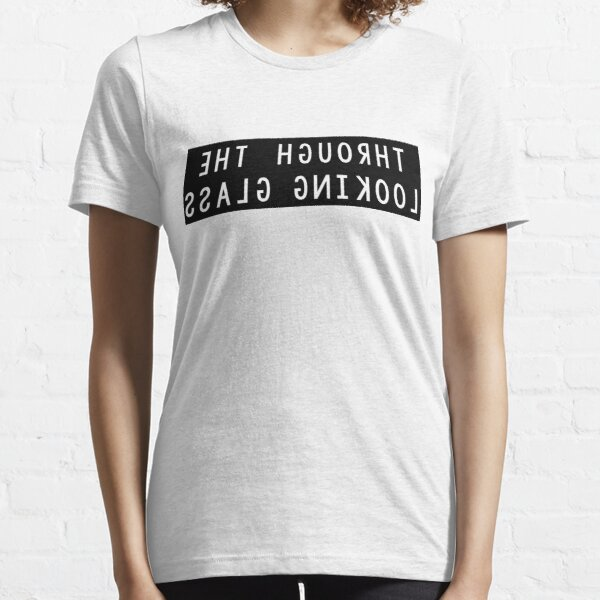 Through the Looking Glass Mirror Image Essential T-Shirt