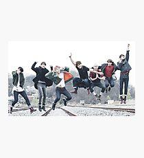 BTS fullteam jump Photographic Print