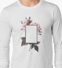 Floral Rectangle Logo T-Shirt