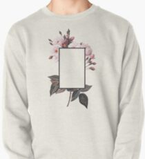 Floral Rectangle Logo Pullover