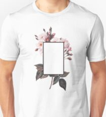 Floral Rectangle Logo Unisex T-Shirt