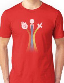 Sci-fi ships Unisex T-Shirt