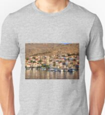 Yachts in Nimborio Bay T-Shirt