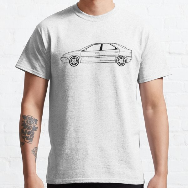Citroen Xantia Line drawing artwork Classic T-Shirt