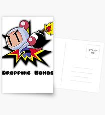 Dropping Bombs Postcards