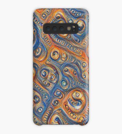 Blue Orange #DeepDream Case/Skin for Samsung Galaxy