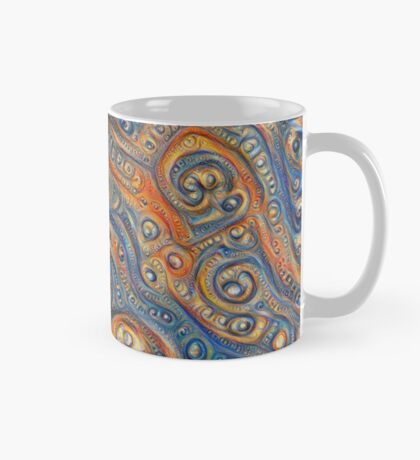 Blue Orange #DeepDream Mug