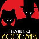 Moon & Mask by machmigo