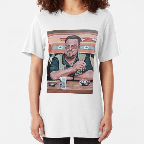 Walter Sobchak Slim Fit T-Shirt