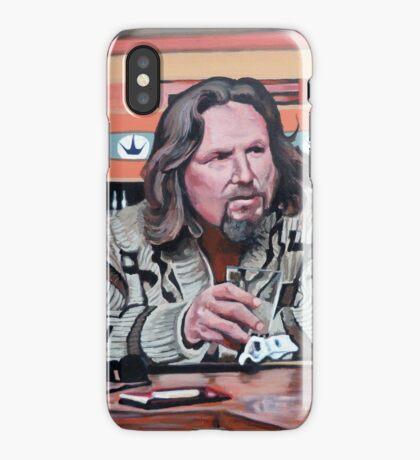 Jeffrey Lebowski iPhone Case