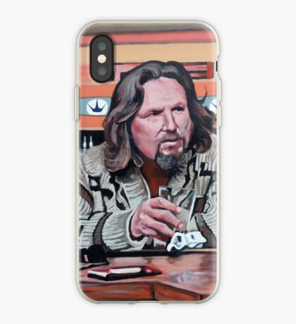 Jeffrey Lebowski iPhone Case